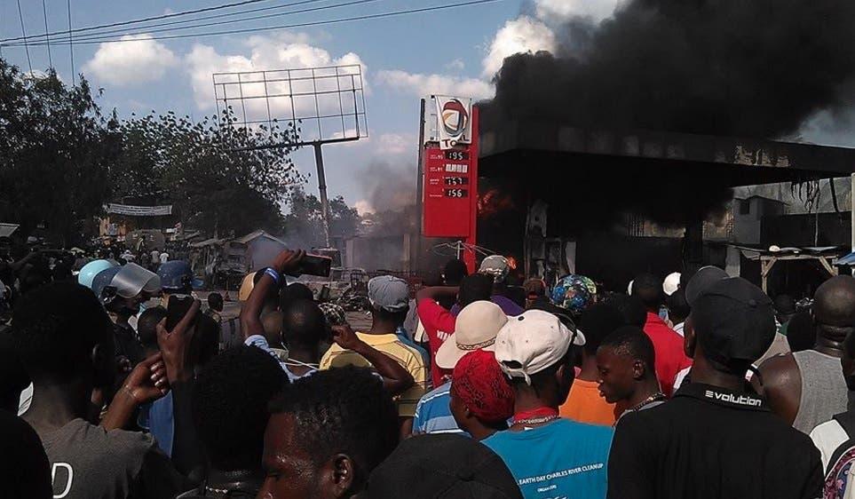 Incendio en Haití 4