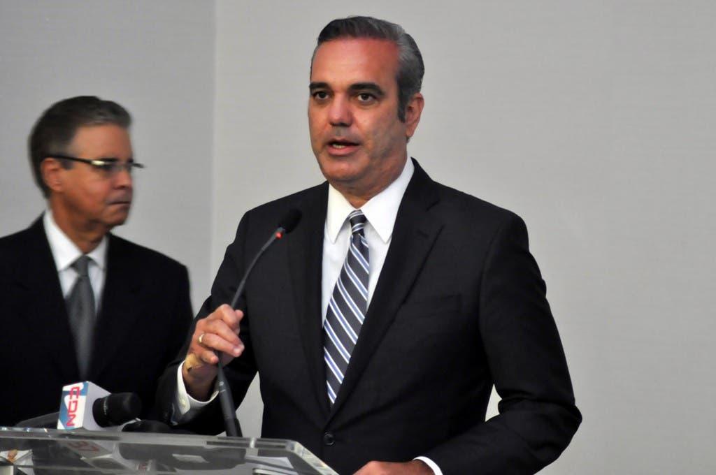 Luis Abinader propone reformar el Estado y relanzar principales renglones de la economía