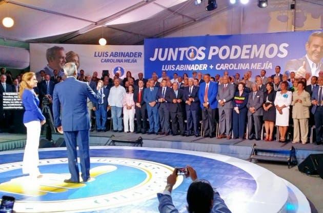 Carolina Mejía dijo que para ella la indiferencia no es una opción, y que tampoco debe serlo para ninguno de los dominicanos que anhelan un nuevo amanecer.