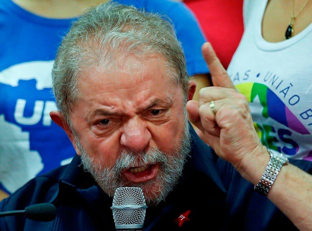 """Lula reitera que lo acusan por """"miedo"""" a que aspire a la Presidencia en 2018."""