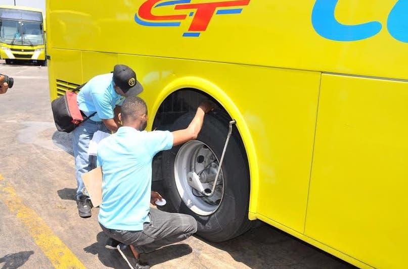 OTTT inspecciona auto