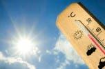 Temperaturas calurosas