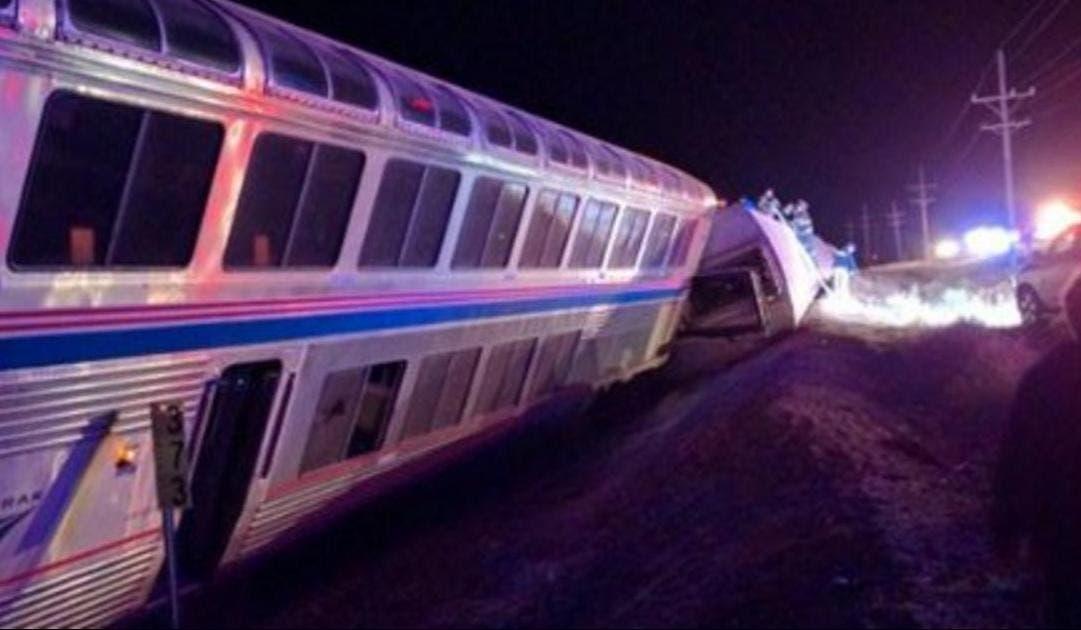 Descarrila tren en Kansas; reportan 20 heridos