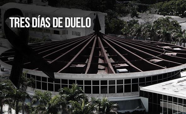 UASD declara tres días de duelo por muerte de exrector