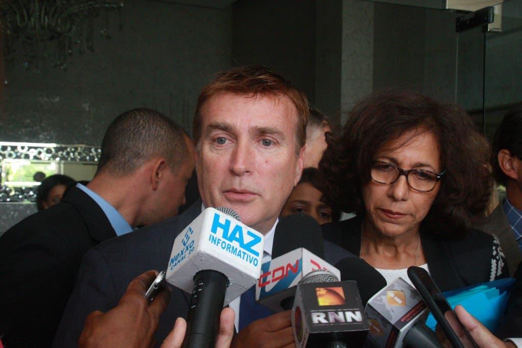 James Wally Brewster, embajador de los Estados Unidos en República Dominicana. HOY Duany Nuñez
