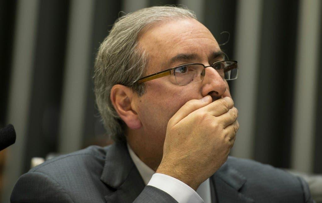 Eduardo Cunha. adversario político de Rousseff y quien fue el encargado de aceptar a trámite el juicio político con miras a la destitución de la jefa de Estado