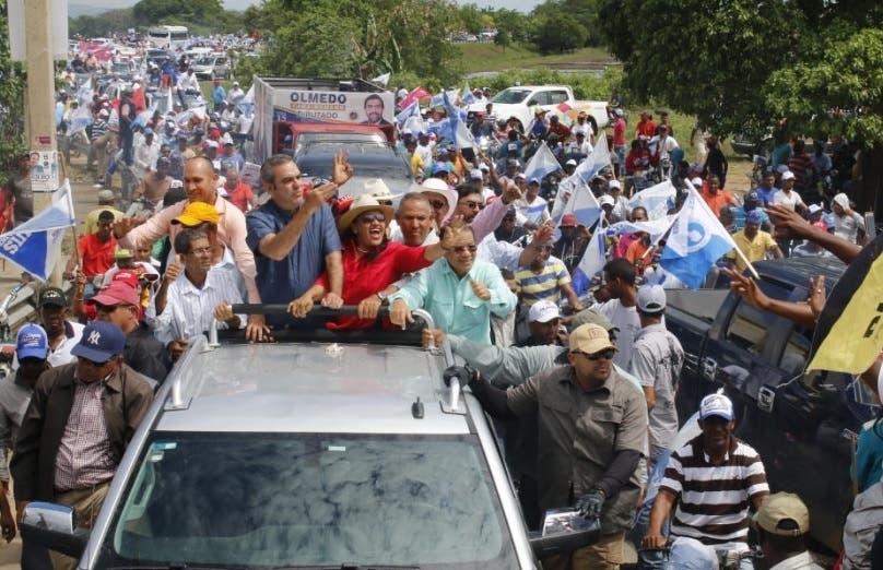 Abinader asegura proyectos agrícolas de provincia Duarte demuestran fracaso de Medina en ese sector