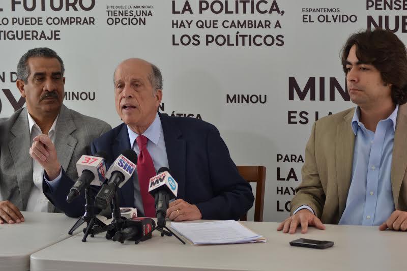 Coalición Minou 2016 también señala sería ilegal JCE haga conteo electrónico de votos en juntas electorales