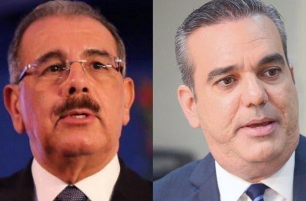 Danilo Medina y Luis Abinader 2