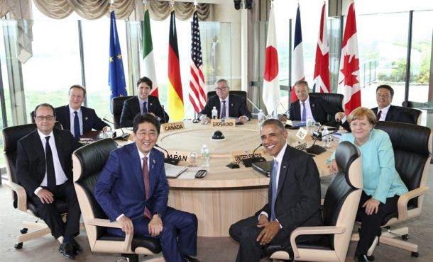 """El G7 afirma que la salida de Reino Unido de la UE es """"un riesgo grave»"""