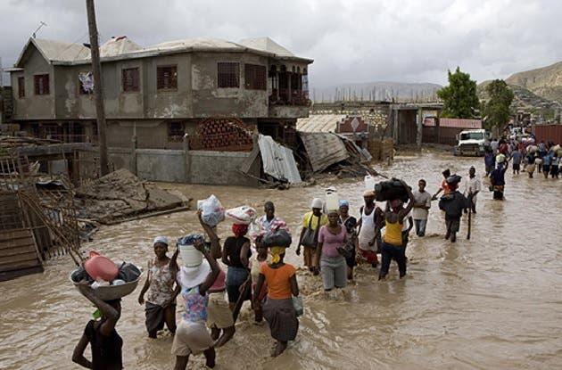 Haití carece de medios materiales para enfrentar inundaciones, dice ministro