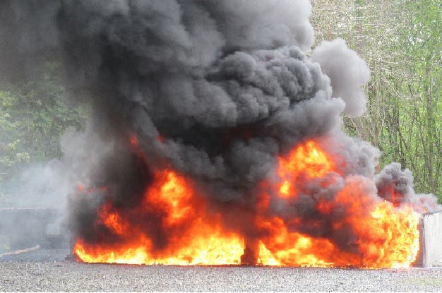 Procuraduría General de la República informó que fueron incinerados 115 kilogramos de  drogas