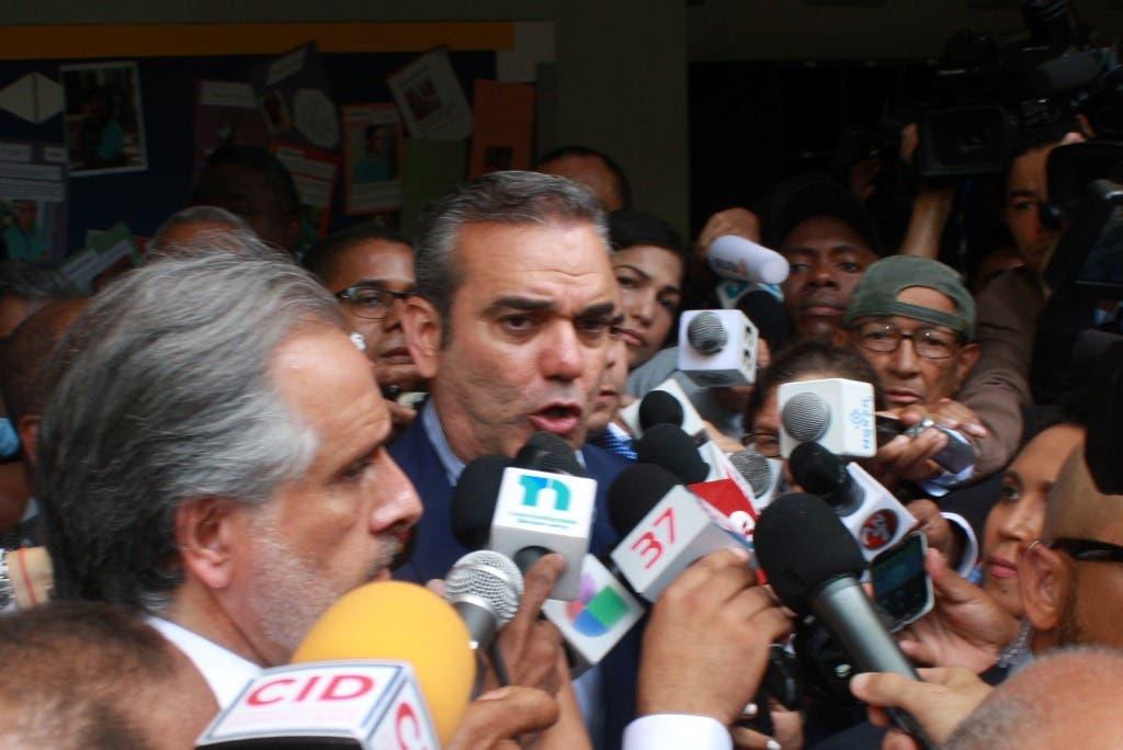 Nuria Piera dice Luis Abinader la llamó y le manifestó preocupación