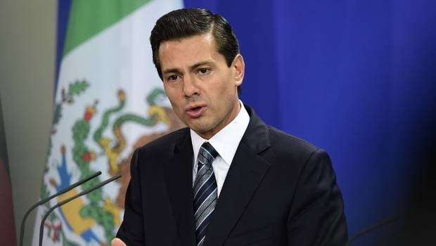 Enrique Peña Nieto .