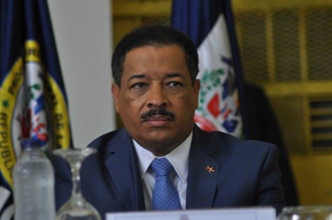 Roberto Rosario, presidente de la JCE. Foto Pedro Sosa