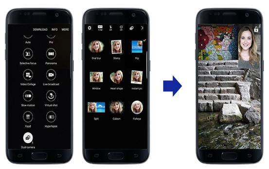 La experiencia fotográfica mejora con el  Galaxy S7 y S7 edge