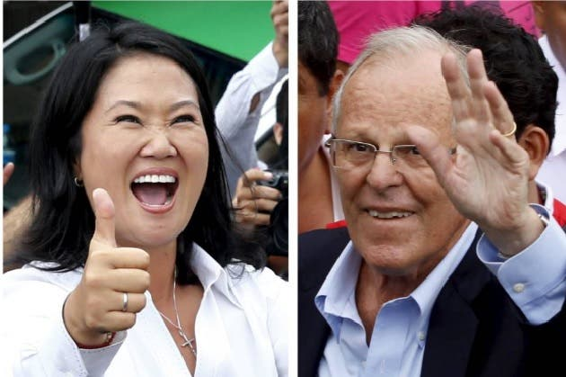 Fujimori y Kuczynski mantienen empate técnico, según sondeos