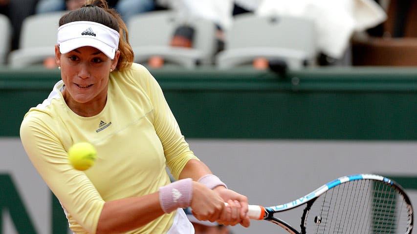 La tenista española Garbiñe Muguruza/ Foto de archivo.