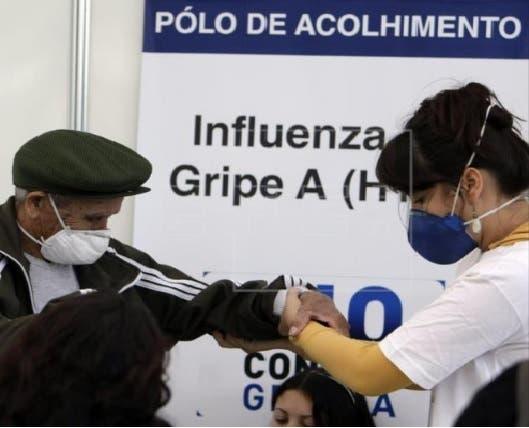 Gripe A en Brasil