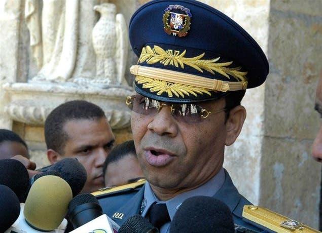 El vocero de la Policía Nacional, general Nelson Rosario. Fuente externa.