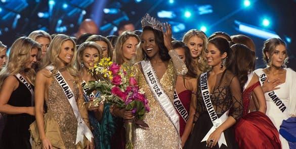 Una oficial del ejército de EEUU, coronada Miss USA