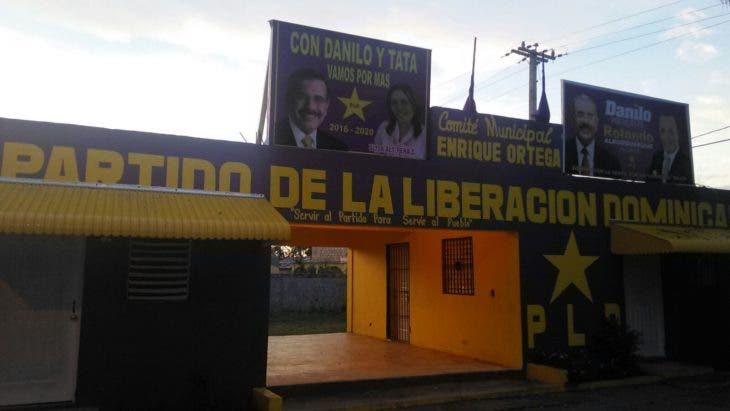 local del PLD en Consuelo