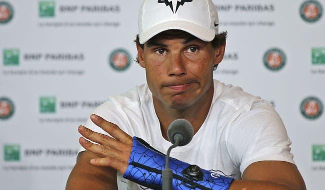 Rafael Nadal queda fuera de Wimbledon por lesión de muñeca