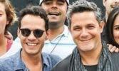 Alejandro Sanz y Marc Anthony