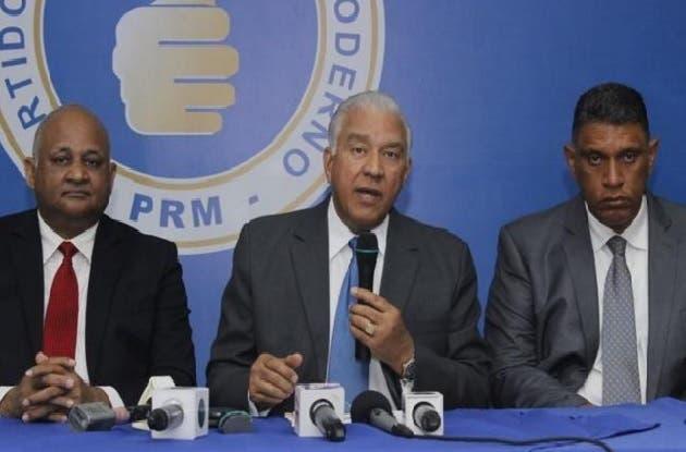 PRM pone a disposición de justicia principales dirigentes por caso Odebrecht
