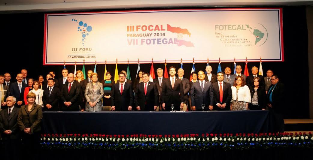 Tesorero Nacional participa en VII seminario de Gestión de Tesorerías Públicas en Paraguay