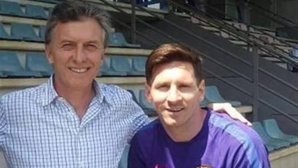 Macri ve a Messi en el Mundial de Rusia y a Alemania ganando la Eurocopa