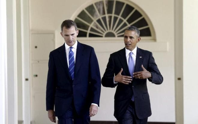 Felipe VI acompañará a Obama en un paseo por el centro histórico de Sevilla