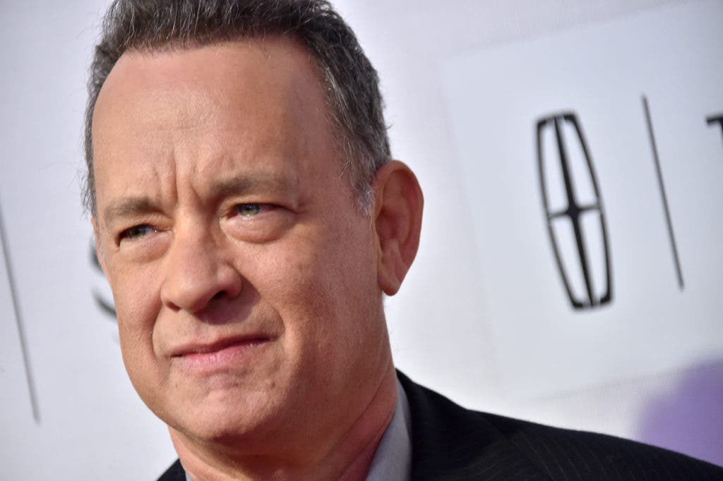 """NEW YORK, NY - APRIL 20:  Tom Hanks attends the """"A Hologram for the King"""" Premiere - 2016 Tribeca Film Festival at BMCC John Zuccotti Theater on April 20, 2016 in New York City.  (Photo by Mike Coppola/Getty Images for Tribeca Film Festival)"""