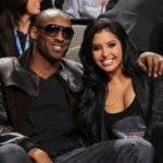 El exjugador de baloncesto Kobe Bryant y su esposa Vanessa Bryant . Fuente externa.