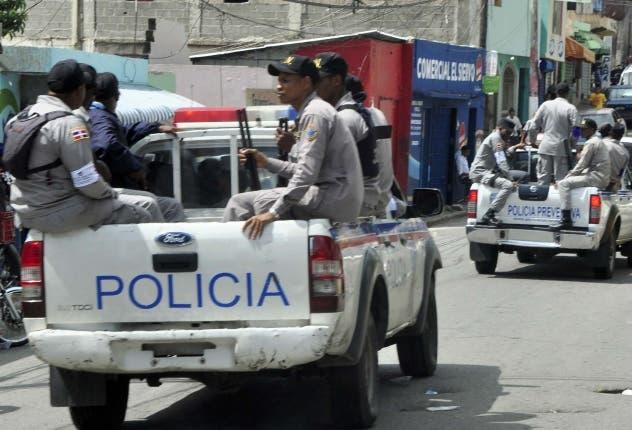 Policia Nacional. Operativo Policial. El Nacional/ Jorge Gonzalez