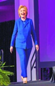 La candidata demócrata a la Casa Blanca, Hillary Clinton, aventaja en seis puntos a su rival republicano, Donald Trump.