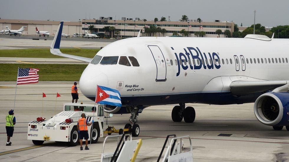 El vuelo 387 de JetBlue