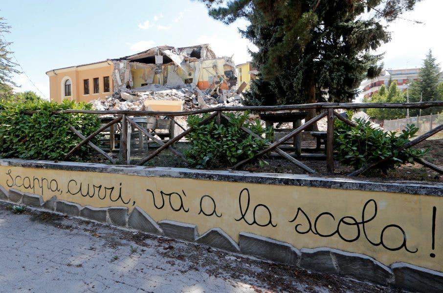 Evacuada la mitad de la población de Amatrice, la más golpeada por el seísmo