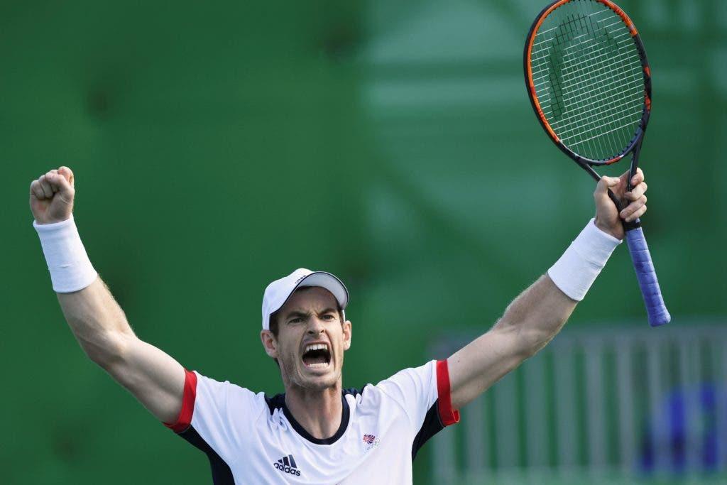 El británico Andy Murray, que este domingo se proclamó campeón del Abierto de China./ AFP / Martin BERNETTI