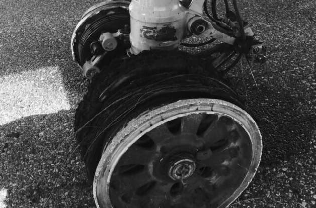 Neumático de avión