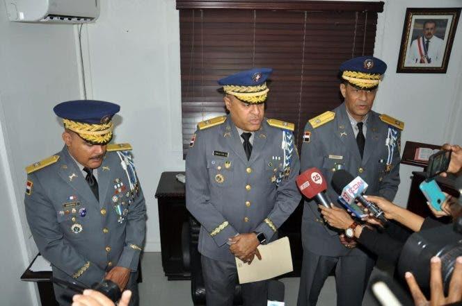 SANTIAGO.- Policía Nacional reemplaza el director del Comando Regional Cibao Central.      HOY       Rafael Vargas Molina