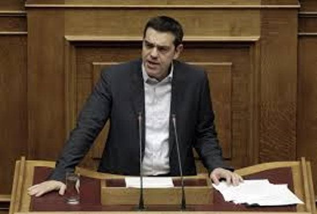 Primer ministro griego pide alivio de deuda y reducción objetivos superávit