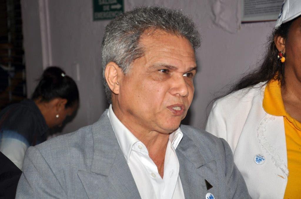 El presidente del CMD, Waldo Ariel Suero.