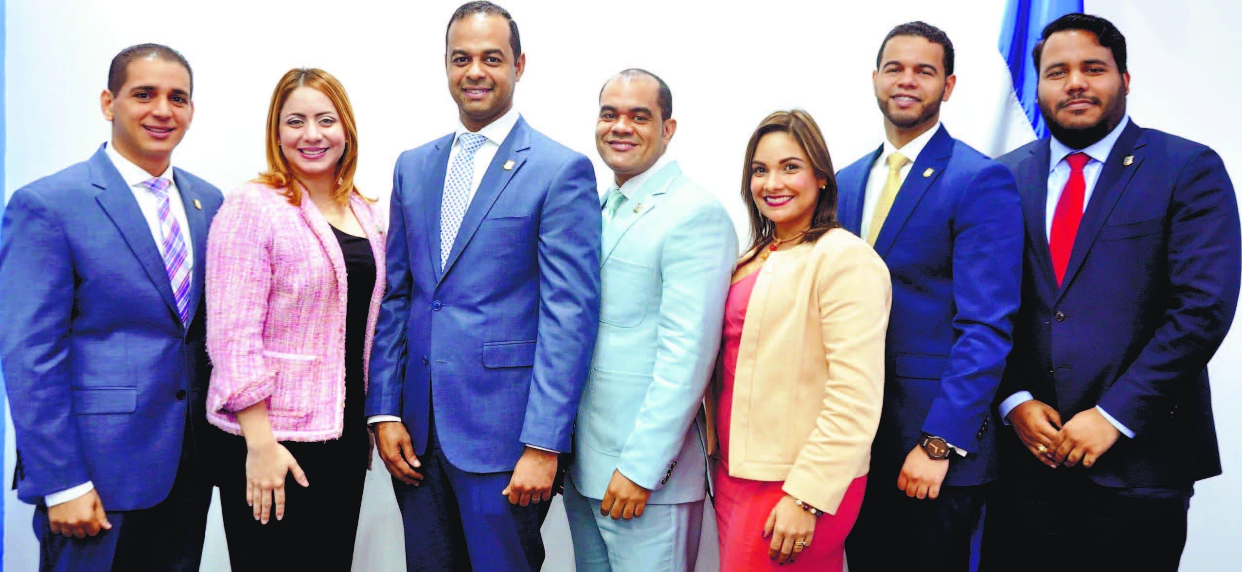 Jóvenes diputados comprometidos con impulsar leyes