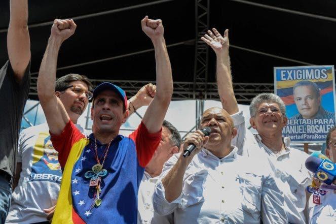 Oposición venezolana convoca nueva marcha el 7 de septiembre contra Maduro