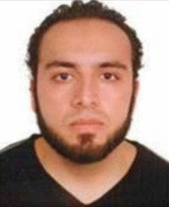 """This image released September 19, 2016 by the Federal Bureau of Investigation(FBI)shows  Ahmad Khan Rahami The FBI is asking for assistance in locating Ahmad Khan Rahami. Rahami is wanted for questioning in connection with an explosion that occurred on September 17, at approximately 8:30 p.m. EST in the vicinity of 135 West 23rd Street, in New York. Rahami is a 28-year-old United States citizen of Afghan descent born on January 23, 1988, in Afghanistan.  - RESTRICTED TO EDITORIAL USE - MANDATORY CREDIT """"AFP PHOTO / FBI"""" - NO MARKETING - NO ADVERTISING CAMPAIGNS - DISTRIBUTED AS A SERVICE TO CLIENTS    / AFP / FBI / HO / RESTRICTED TO EDITORIAL USE - MANDATORY CREDIT """"AFP PHOTO / FBI"""" - NO MARKETING - NO ADVERTISING CAMPAIGNS - DISTRIBUTED AS A SERVICE TO CLIENTS"""