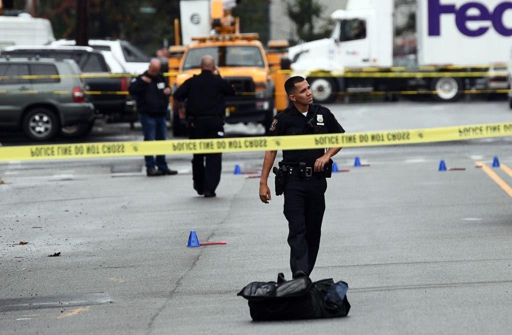 Las autoridades estadounidense han confirmado la detención del hombre sospochoso que estaba siendo buscado por la policía y el FBI . AFP.