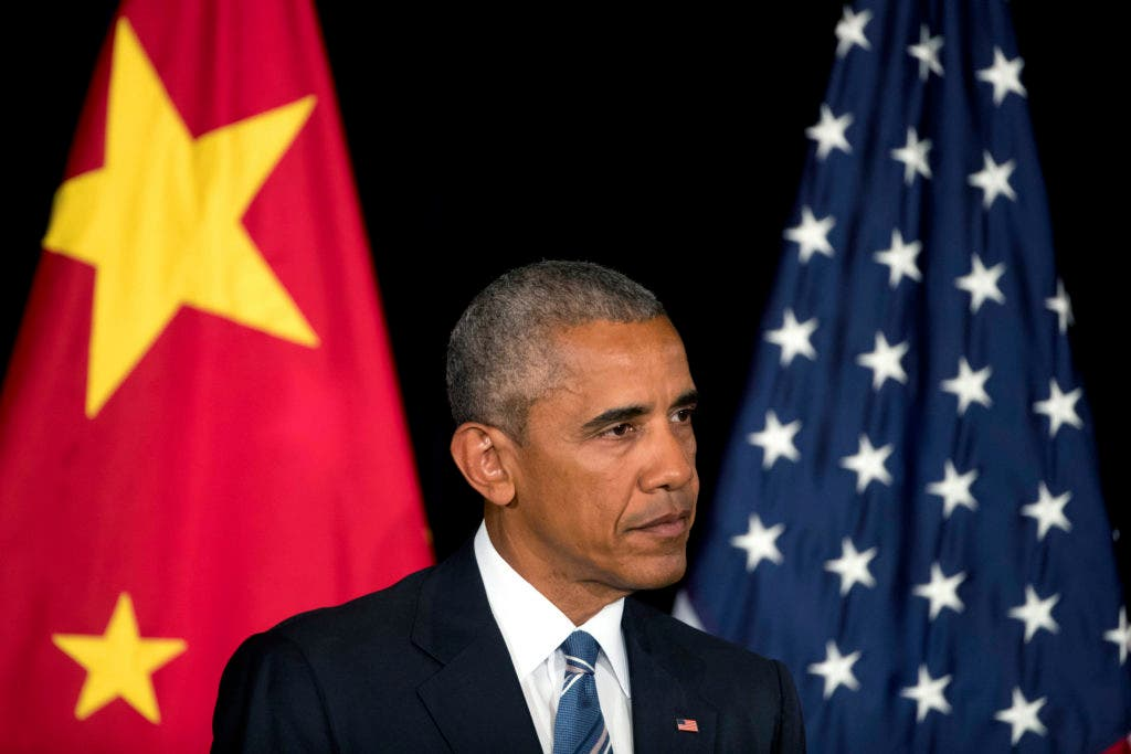 U.S. President Barack Obama listens to a reporter's question during a press conference after the conclusion of the G-20 Summit in Hangzhou in eastern China's Zhejiang Province, Monday, Sept. 5, 2016. (AP Photo/Mark Schiefelbein)
