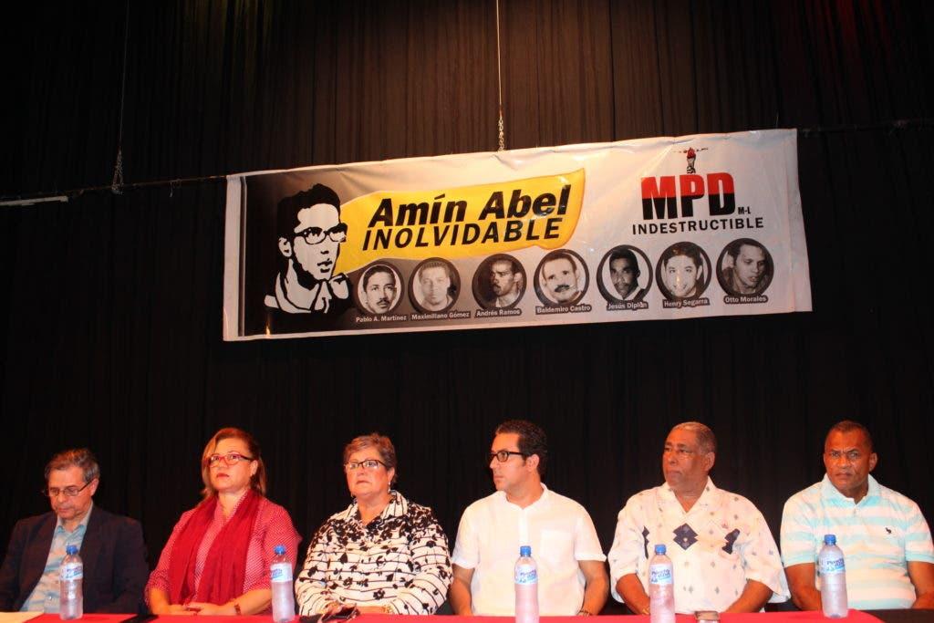 el Movimiento Popular Dominicano (MPD) dio a conocer la creación de una Comisión de la Verdad