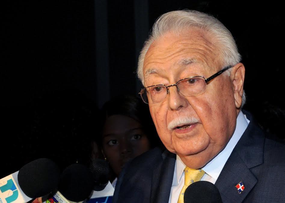 El ministro Antonio Isa Conde. Fuente externa.